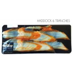 6 Tranches de haddock fumé