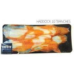 10 Tranches de haddock fumé