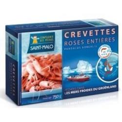 Crevettes roses entières