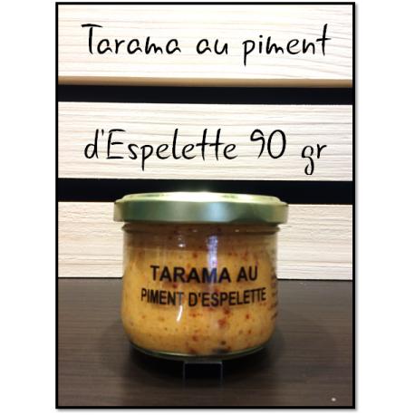 Tarama au piment d'Espelette