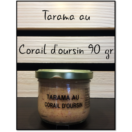 Tarama au Corail d'oursin