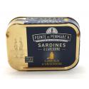 Sardines à l'huile d'arachide 0.115gr