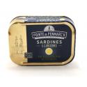 Sardines à l'huile d'Olive et au Citron 0.115 gr