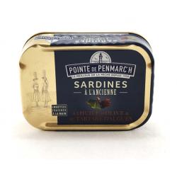 Fllet de sardines aux herbes et aux petits légumes 0.100gr