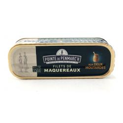 Maquereaux en filets aux 2 moutardes 0.169gr