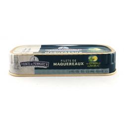 Maquereaux en filets marinés au Citron / Basilic 0.176gr