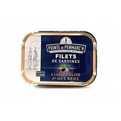Filets de Sardines à l'huile d'olive aux 5 Baies