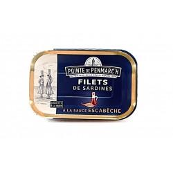 Filets de Sardines à la sauce escarbèche