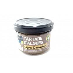 """Tartare d""""algues câpres et cornichons"""