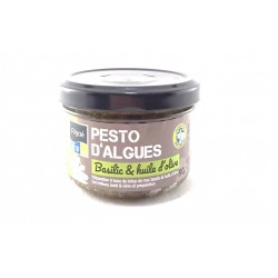 Pesto d'Algues Basilic et Huile d'olive