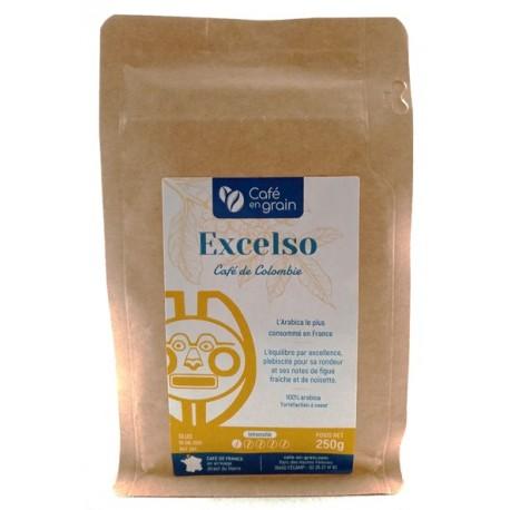 Café de Colombie EXCELSO mixé