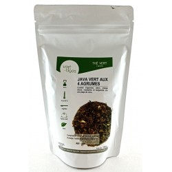 Thé vert Java vert aux 4 Agrumes
